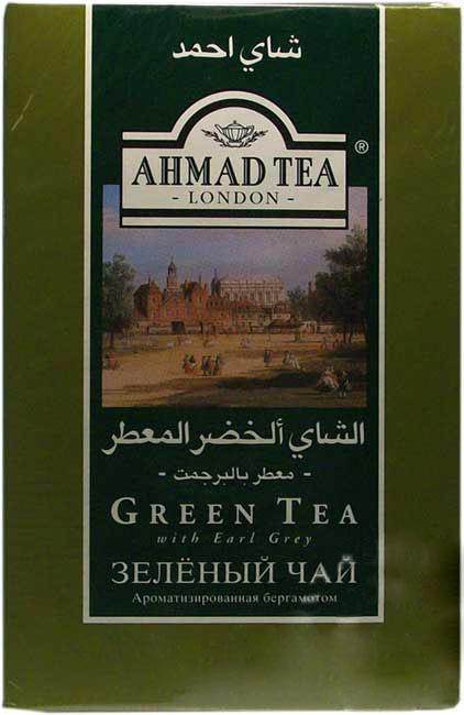 AHMAD GREEN TEA w/ EARL GREY