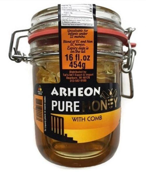 ARHEON HONEY w/COMB (454g)
