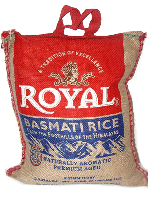 BASMATI ROYAL RICE 15LB