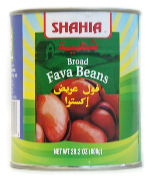BROAD FAVA BEANS 800g