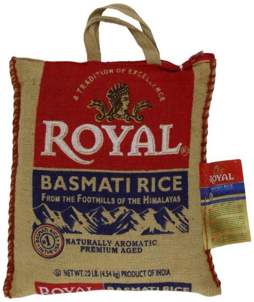 BASMATI ROYAL RICE 10LB