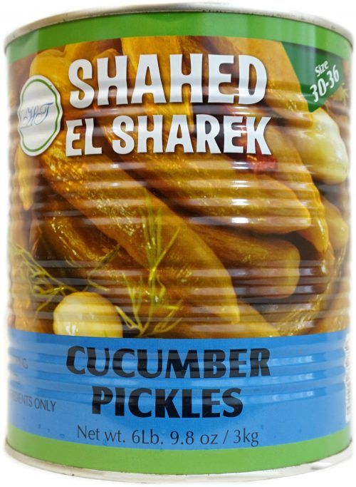 SHAHED PICKLES 3KG (size 30-36)