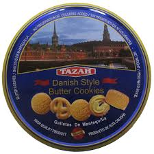DANISH STYLE BUTTER COOKIES