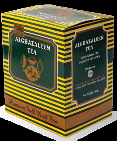 ALGHAZALEEN BLACK TEA - COURSE